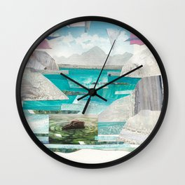 Gone Missing Wall Clock