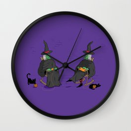 Witch Crafts Wall Clock
