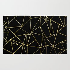 Ab Dotted Gold Rug