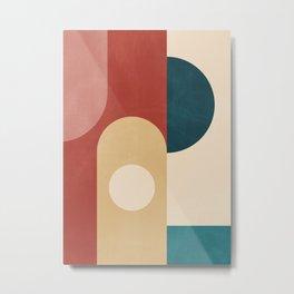 Geometric Shapes 84 Metal Print