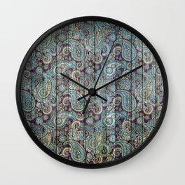 Kashmir on Wood 06 Wall Clock