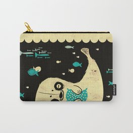 Panda Seal Carry-All Pouch