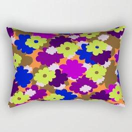 Fall Fun Flowers Rectangular Pillow