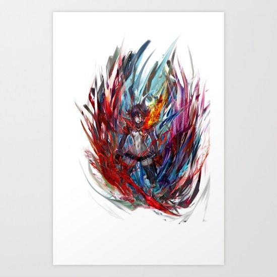 Ryuko Matoi Art Print