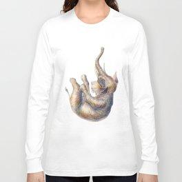 Falling Elephant Long Sleeve T-shirt