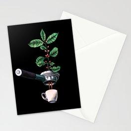 Coffee Plant Design Espresso Barista Stationery Cards