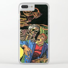 Horror in the Dark - the Pre-Code Collection Clear iPhone Case