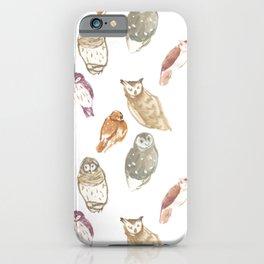 Die Eulen iPhone Case