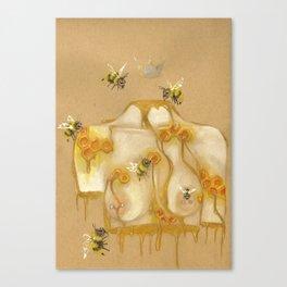 Honey Queen Canvas Print
