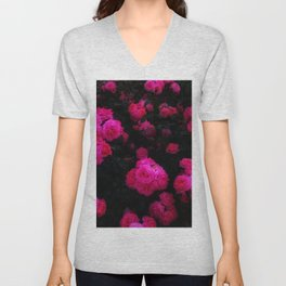 Bunches of Roses Unisex V-Neck