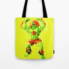 Street Fighter II - Blanka Tote Bag