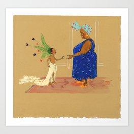 """""""For me, Abuela?"""" Art Print"""
