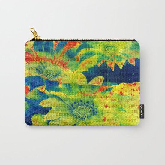 bright flowers  https://society6.com/clemm?promo=X9B3VVZDM7J6 Carry-All Pouch