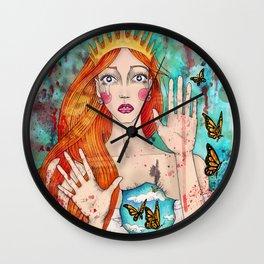 Butterflies Queen Wall Clock