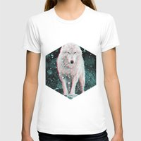hologram T-shirts featuring hologram wolf by Avalon Corvus