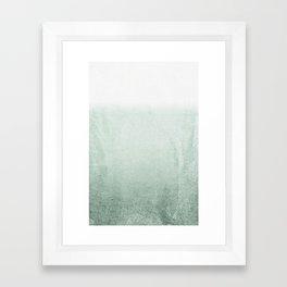 FADING GREEN EUCALYPTUS Framed Art Print