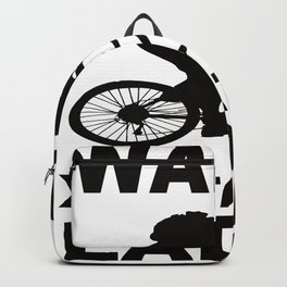 Bicycle Calves Instead Of Loading Backpack