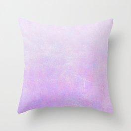 Lilac Ombre Throw Pillow