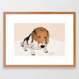 Beagle Bailey Framed Art Print