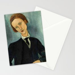 "Amedeo Modigliani ""Monsieur Baranowski"" Stationery Cards"