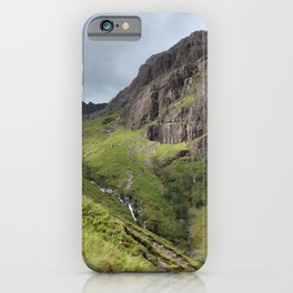 Brooding Glen Coe Peak Scotland iPhone Case