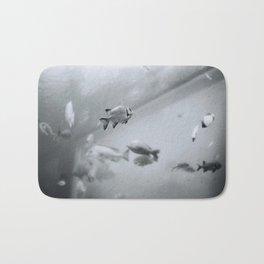 Swimming in Frozen Time Bath Mat