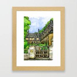 Sir William Powell's Almshouses, SW6 Framed Art Print