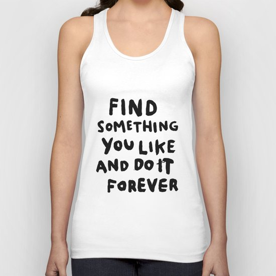 Find Something you like Unisex Tank Top