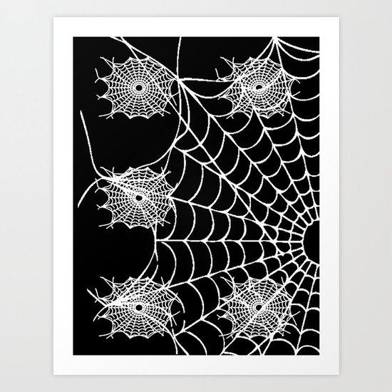 WEB PAGE Art Print