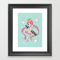 Fighter Framed Art Print