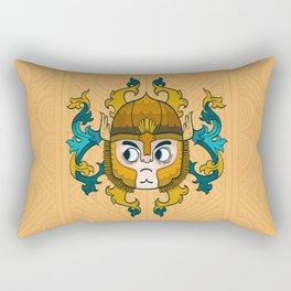 Golden Knight Rectangular Pillow