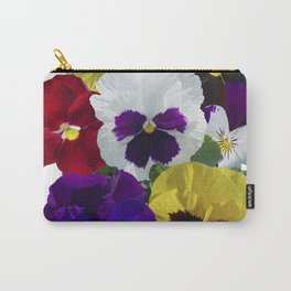 Pansies! Carry-All Pouch