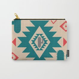 Navajo desert geometry Carry-All Pouch