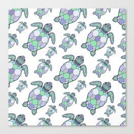 Sea turtles. Canvas Print