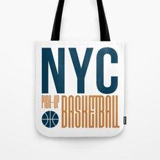 N.Y.C. Pick-Up Basketball Tote Bag