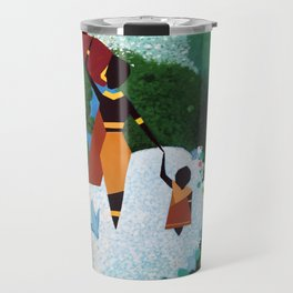Woman and Child Travel Mug