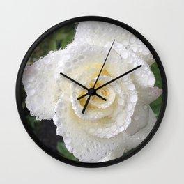 """Rosa, """"Rose"""" Wall Clock"""