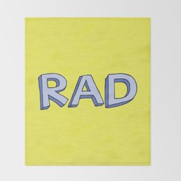 RAD Throw Blanket