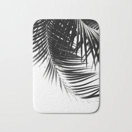 Palm Leaves Black & White Vibes #1 #tropical #decor #art #society6 Bath Mat