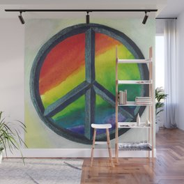 Forge Peace Wall Mural