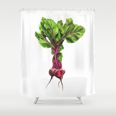 Beets Shower Curtain