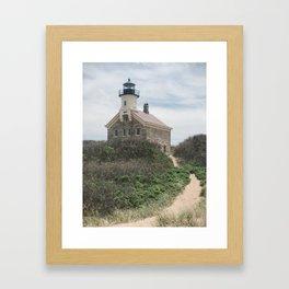 Block Island North Light Framed Art Print