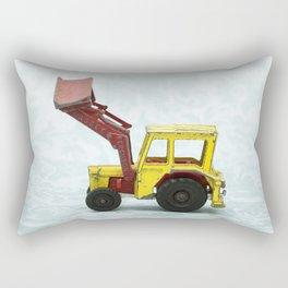 Vintage Corgi Junior - Massey Ferguson Tractor Rectangular Pillow