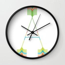 An A Wall Clock
