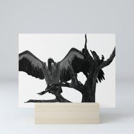 Vulture Mini Art Print