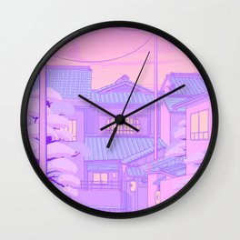 Kyoto Walk Wall Clock
