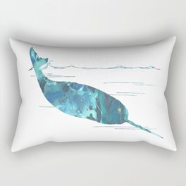 Narwhal Rectangular Pillow