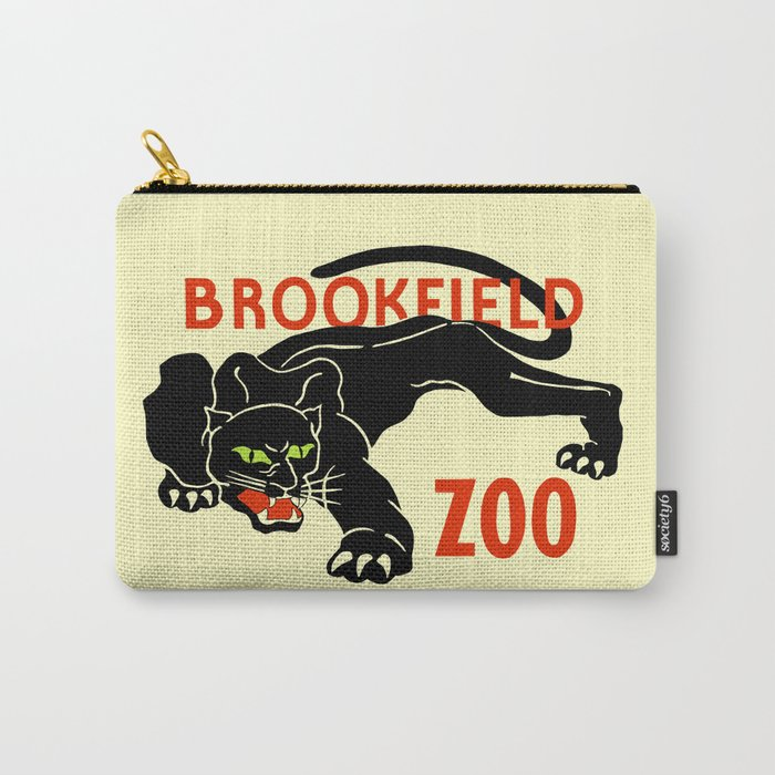 Black panther Brookfield Zoo ad Carry-All Pouch