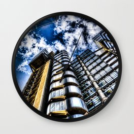 The Lloyd's and Willis Group Buildings Wall Clock