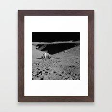 Lunar Vehicle  Framed Art Print